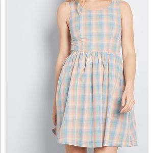 ModCloth Optimistic Effect Sleeveless Dress NWT